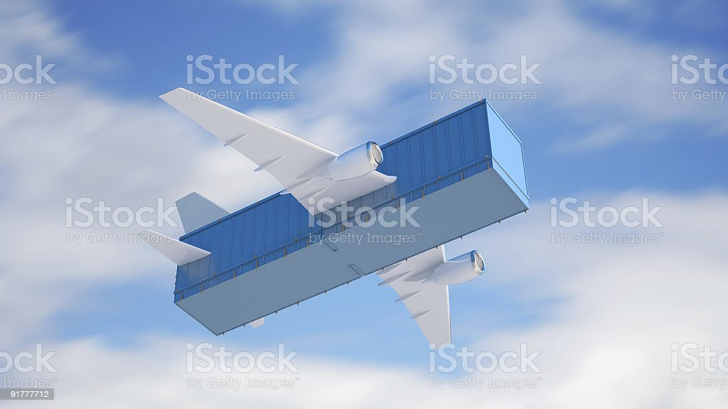 Air cargo-Konzept – Foto