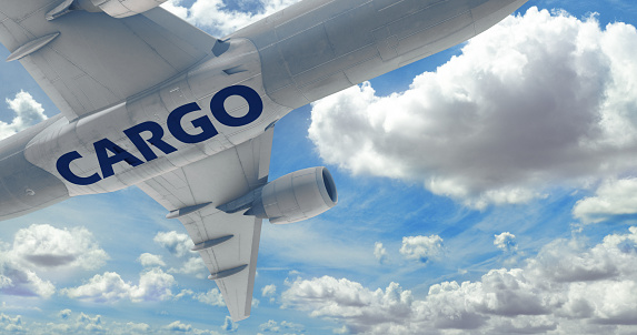 Cargo Airplane, Commercial Airplane, Cargo Container, Transportation, Freight Transportation