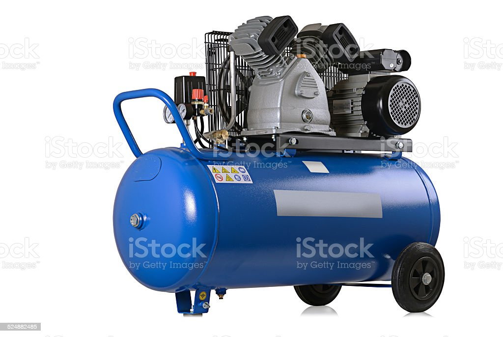 air compressor stock photo