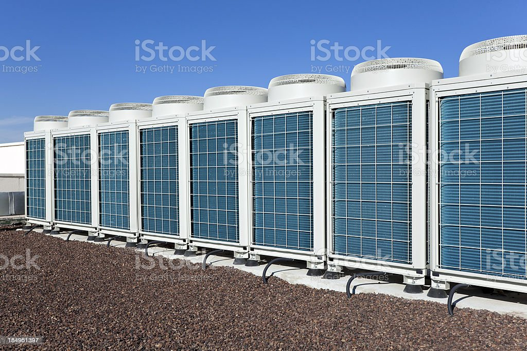 HVAC Air Condioners stock photo