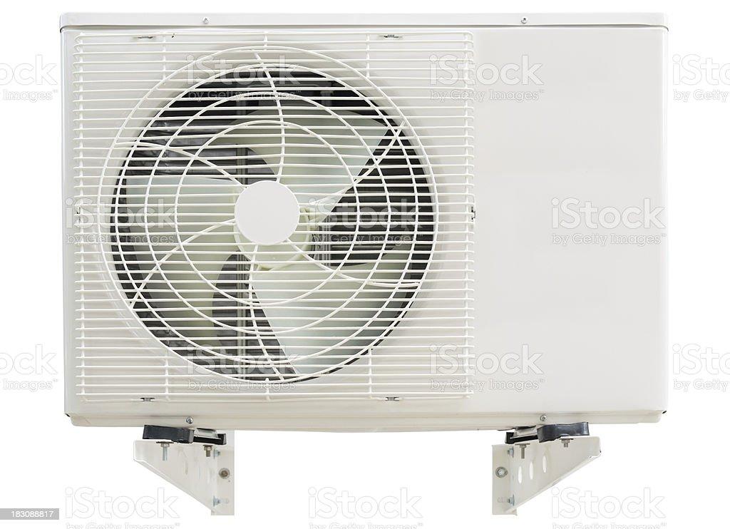 Condición de Compresor de aire con brazos de montaje - foto de stock