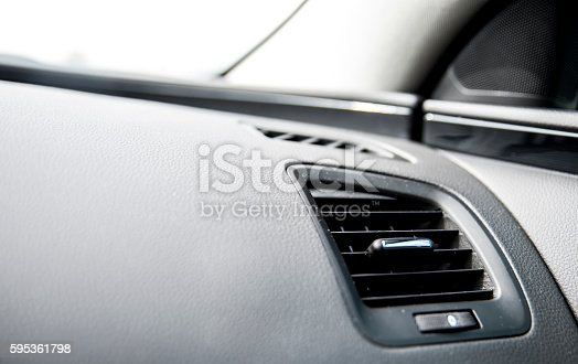 istock Air condition in the car 595361798