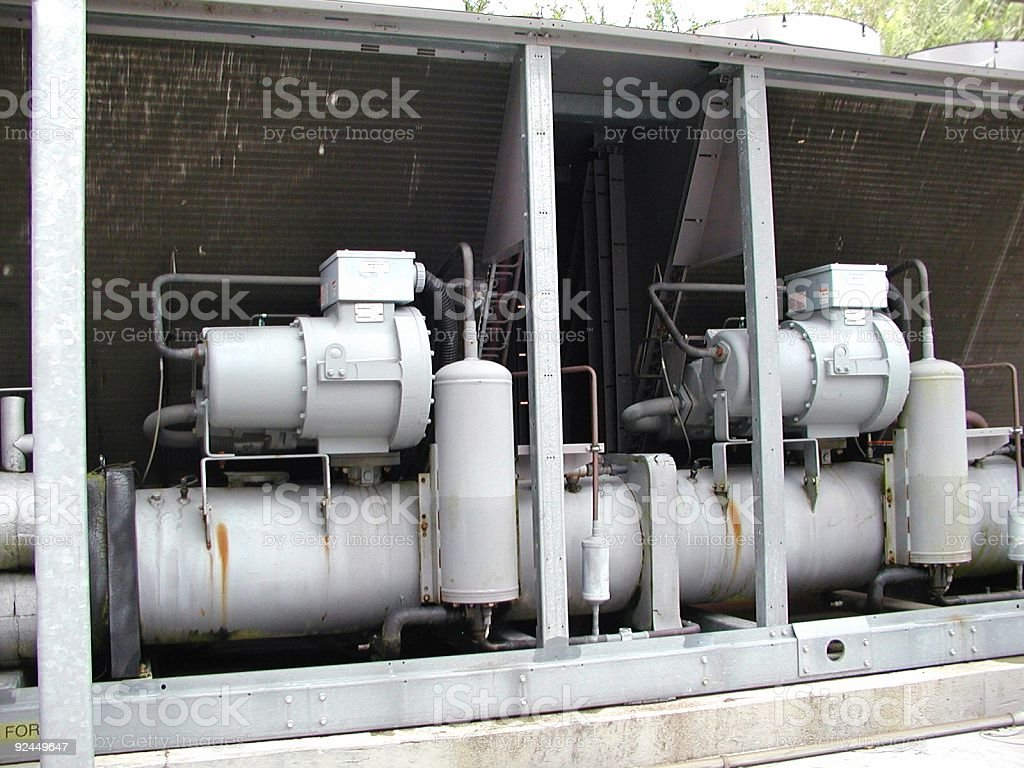 Air condition Unit stock photo