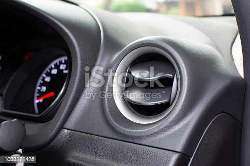 istock Air condition vent  for adjust airflow. 1033271428