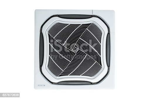 1132163701istockphoto Air condition vent isolated on white background. 637670838