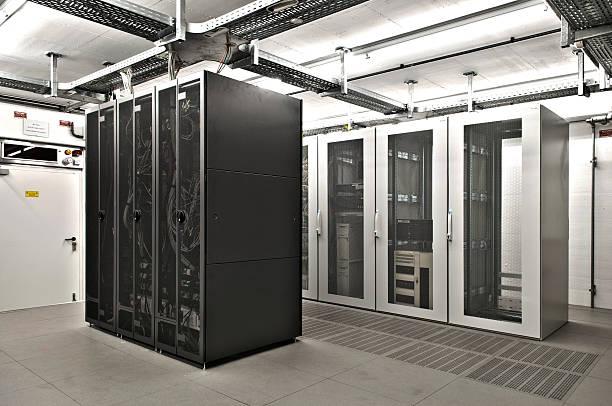Klimatisierte it server-Raum – Foto