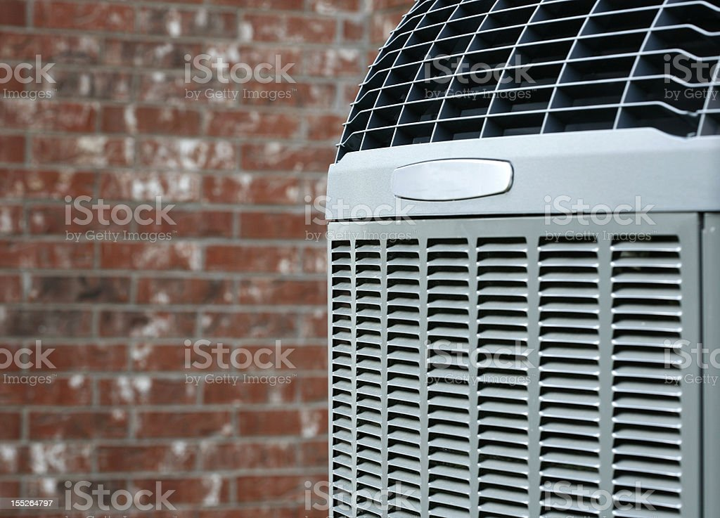 Air conditioner close-up stock photo