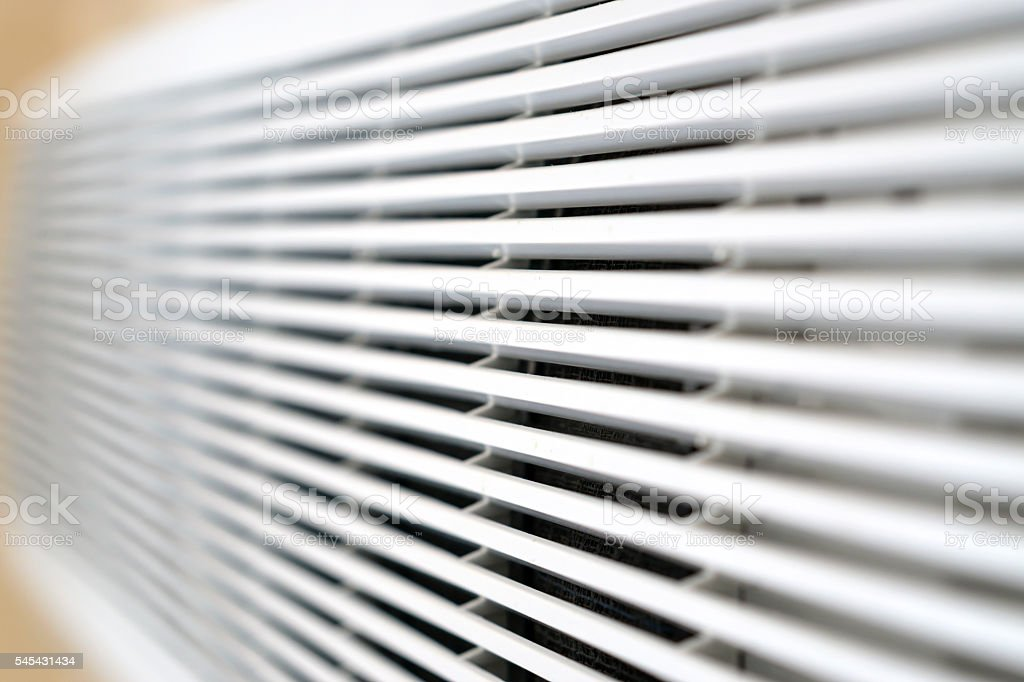 Air conditioner, close-up stock photo