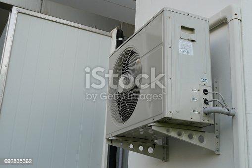 istock Air conditioner condenser unit 692835362