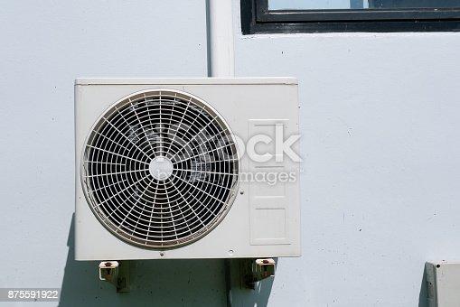 871063730 istock photo Air conditioner condenser unit 875591922