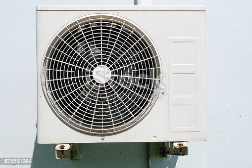 871063730 istock photo Air conditioner condenser unit 875591964
