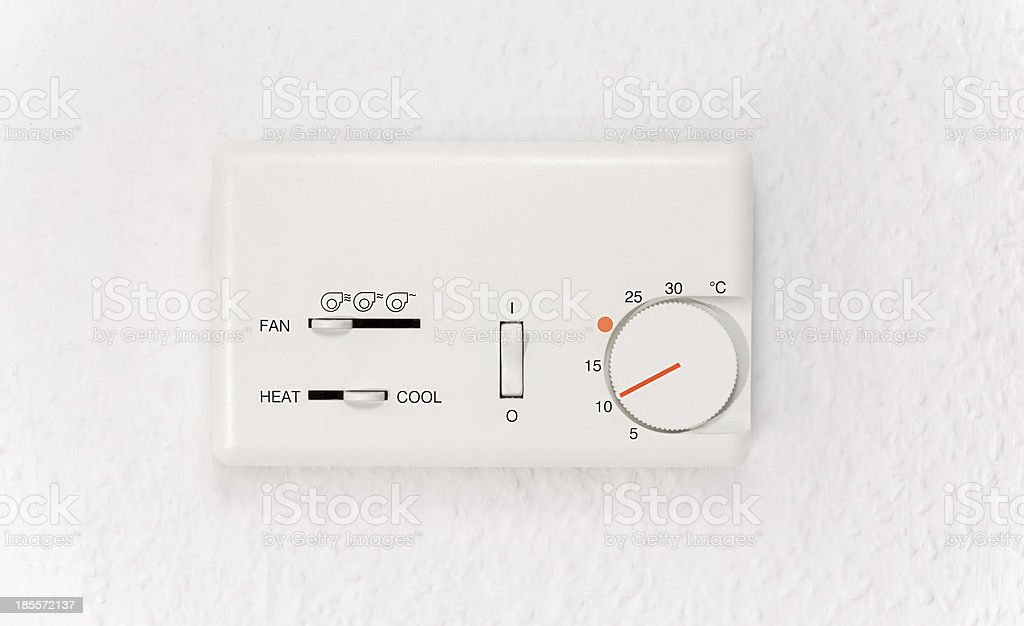 Air conditioner controller royalty-free stock photo