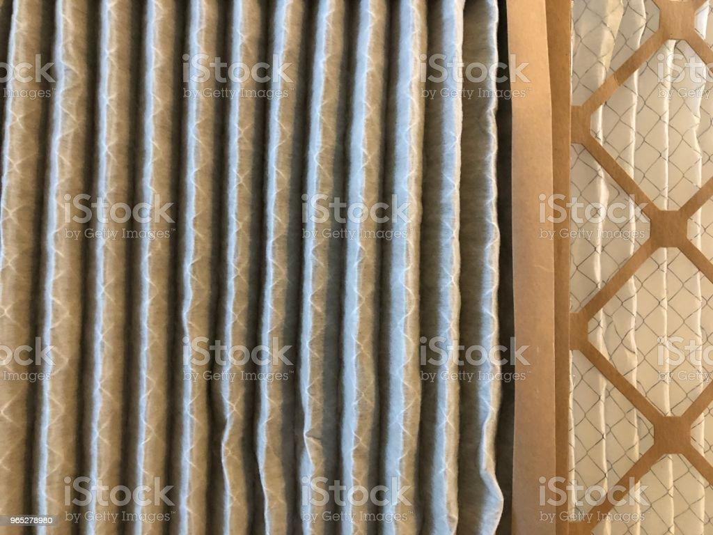 Air conditioner filter zbiór zdjęć royalty-free