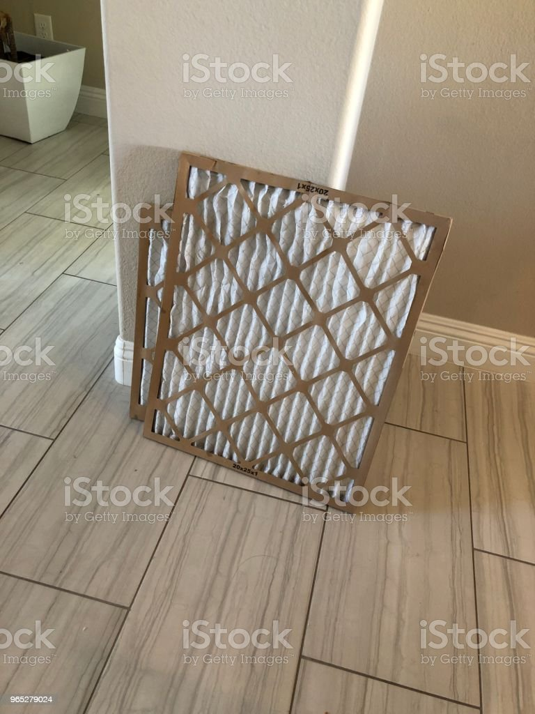 Air conditioner filter royalty-free stock photo