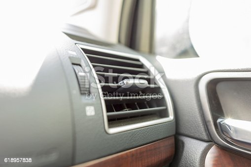 istock Air Conditioner in front of car 618957838