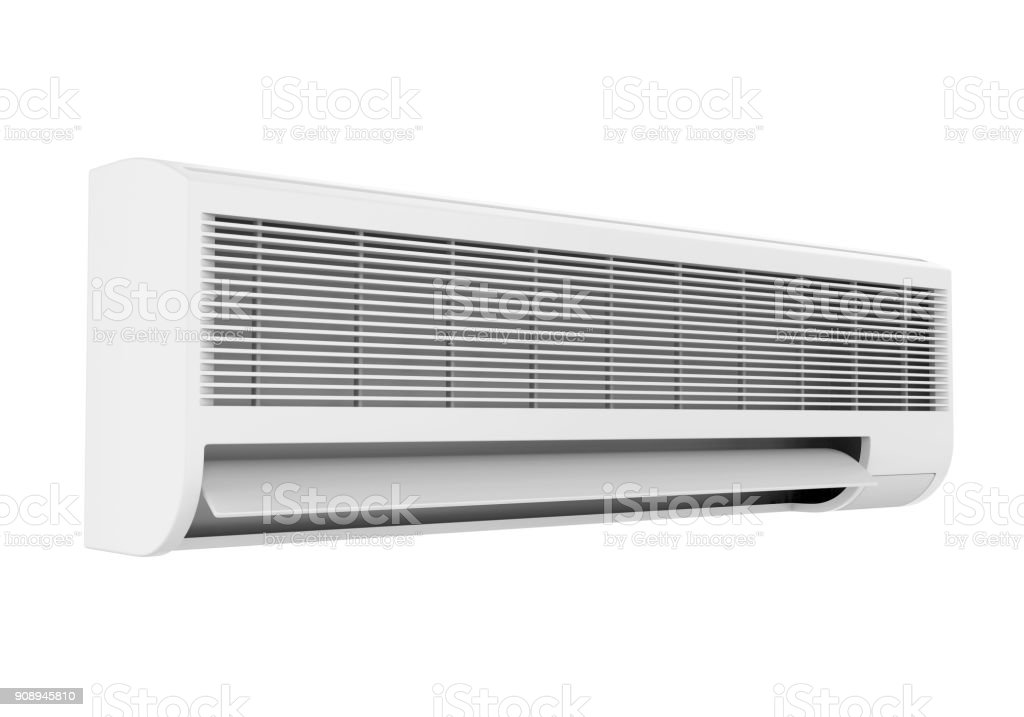 Air Conditioner Isolated stock photo