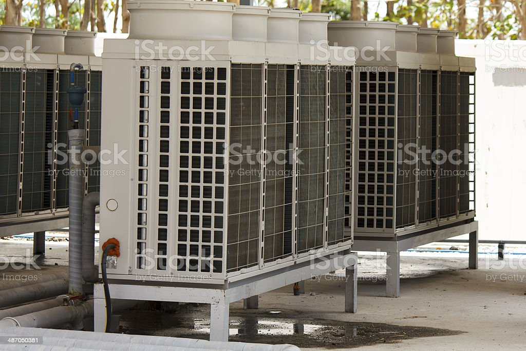 Air conditioner. royalty-free stock photo