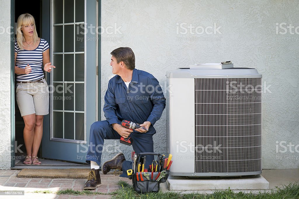 Image result for Tips to Consider When Looking for a HVAC repairperson istock