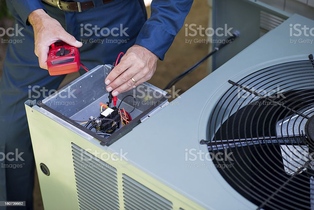 Klimaanlage Handwerker – Foto