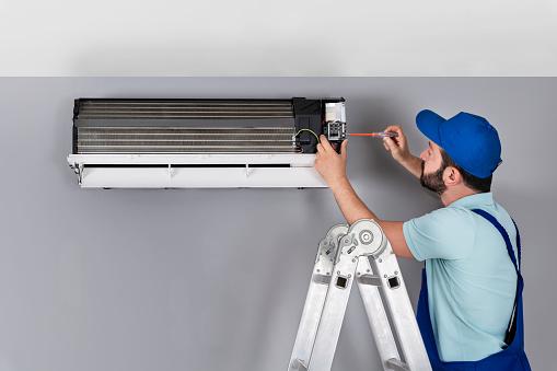 istock Air Conditioner Service 1173554972