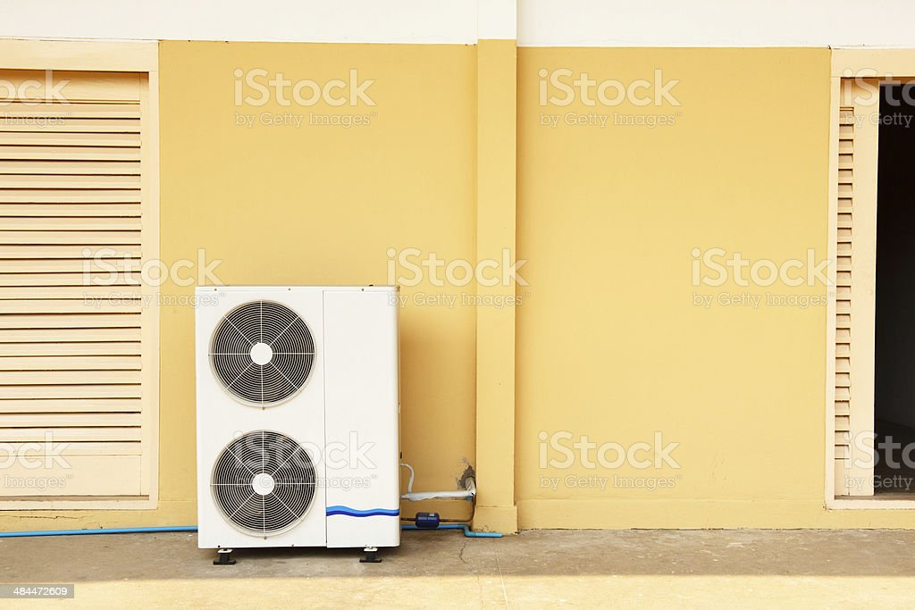 Air conditioner system royalty-free stock photo