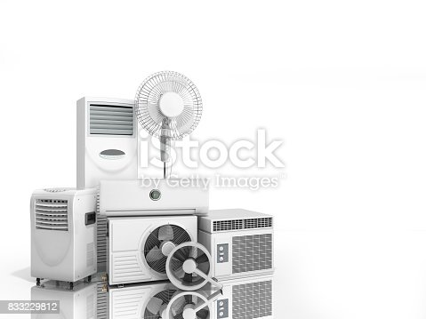 istock air conditioning equipment 3d rensder on white background 833229812