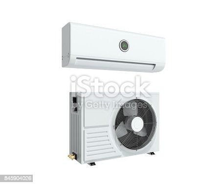 istock air conditioning equipment 3d rensder on white background 845904026