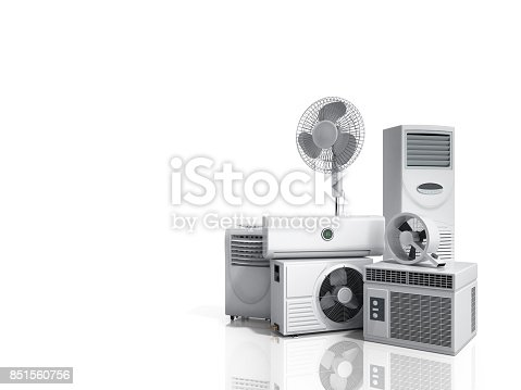 istock air conditioning equipment 3d rensder on white background 851560756