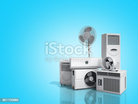 istock air conditioning equipment 3d rensder on white background 851700660