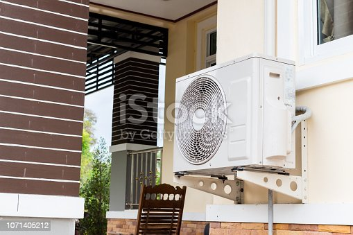 istock air conditioning fixed to a wall 1071405212