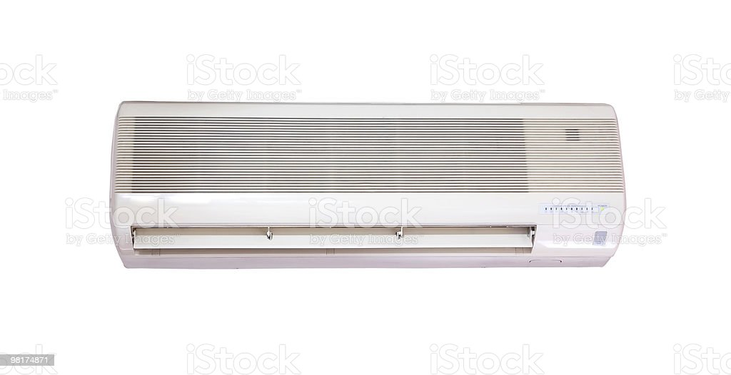 Air Conditioning - Powered On royalty-free stock photo