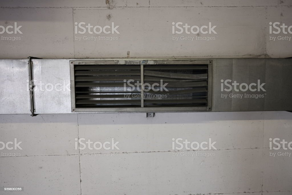 air conditioning route broken stock photo