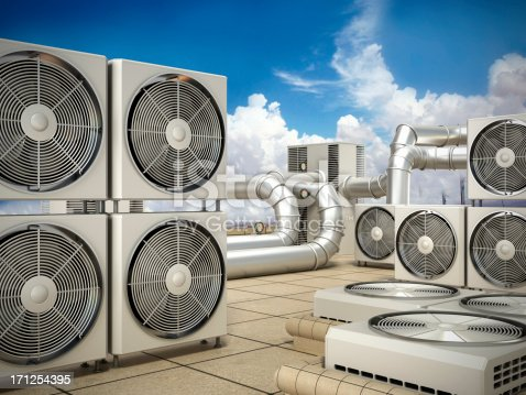 istock Air conditioning system 171254395