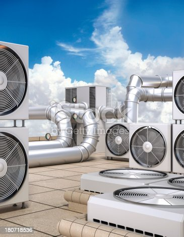 istock Air conditioning system 180718536