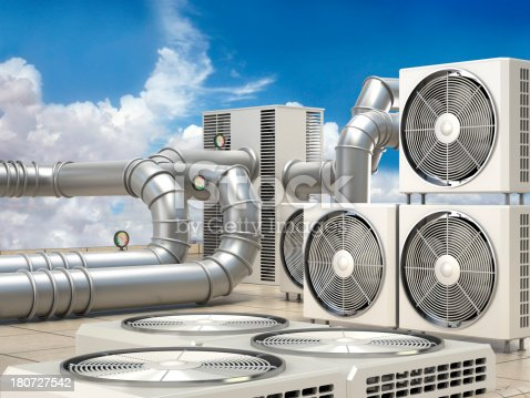 istock Air conditioning system 180727542