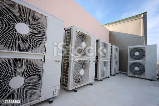 istock Air conditioning system 471898393