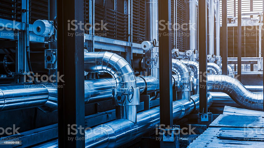 air conditioning systems stock photo