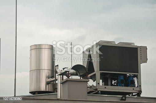 947099530 istock photo Air conditioning unit equipment 1021629380