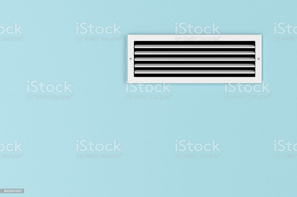 Air conditioning vent stock photo