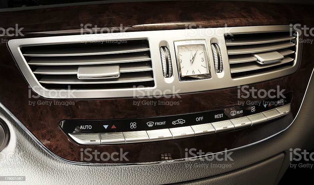 air conditioning vents stock photo