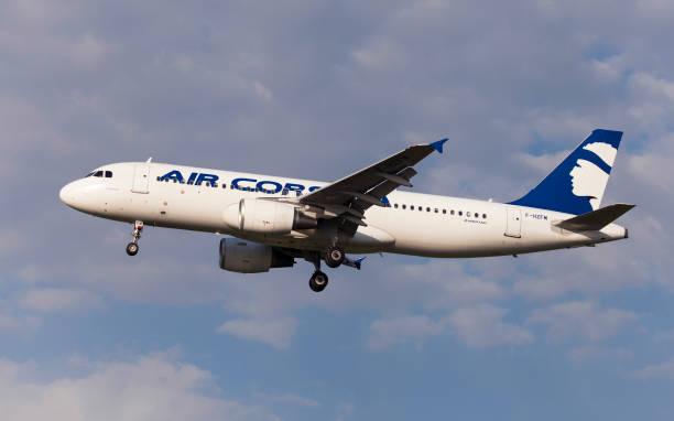 Air Corsica Airbus A320 stock photo