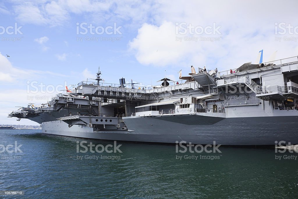 Air Craft Carrier royalty-free stock photo