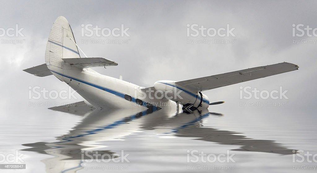air crash stock photo
