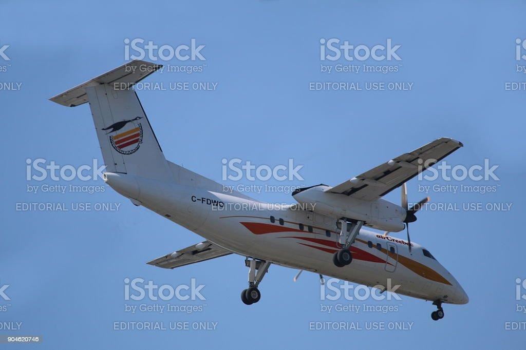 Air Creebec Dash-8 stock photo