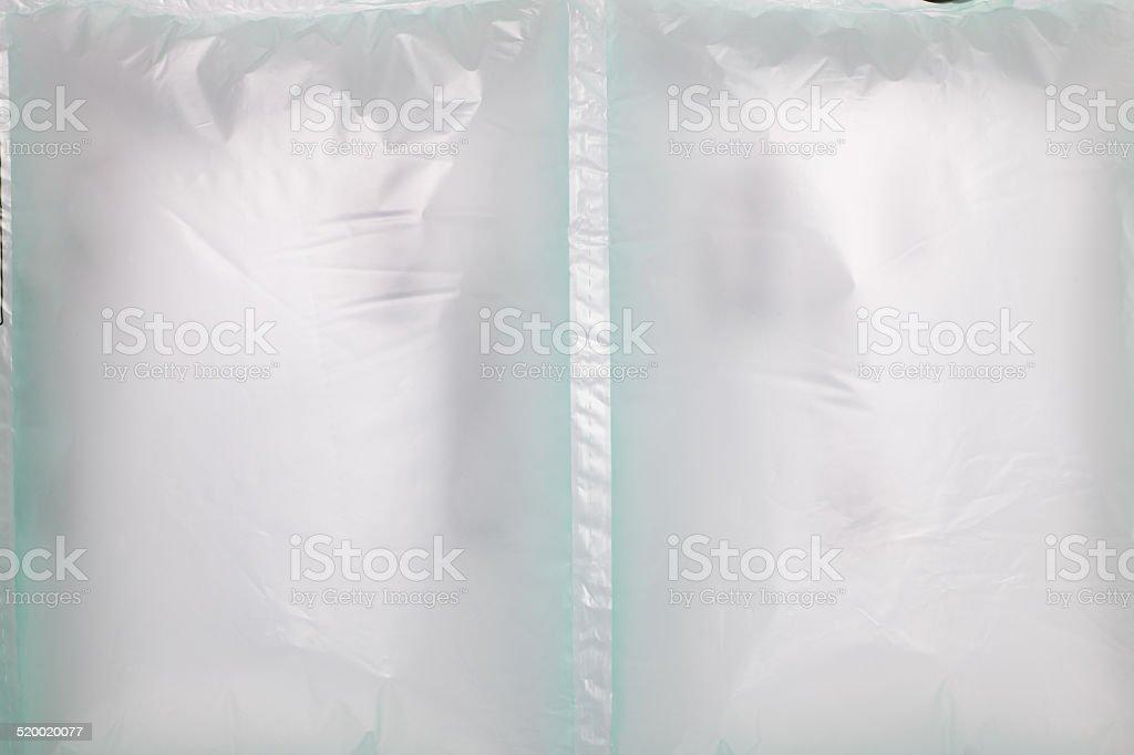 air cushion bag stock photo