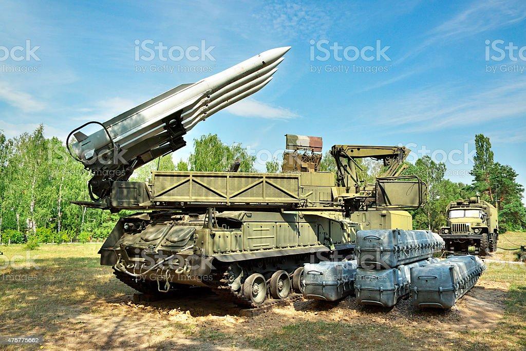 Air defense stock photo