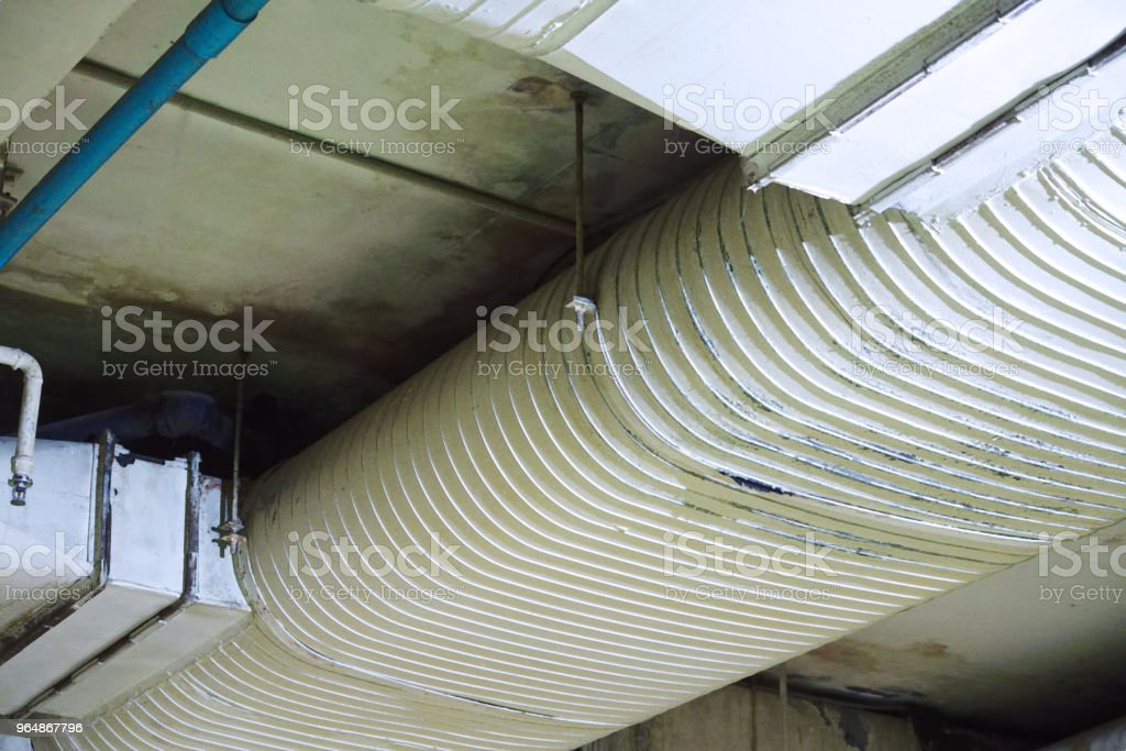 Air Duct of Air Conditioning System royalty-free stock photo