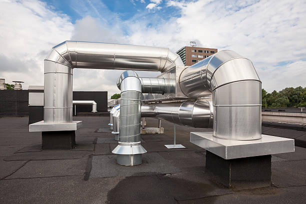 air ducts on the roof – Foto