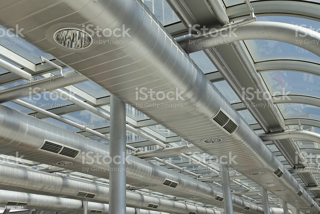 Air Ducts royalty-free stock photo