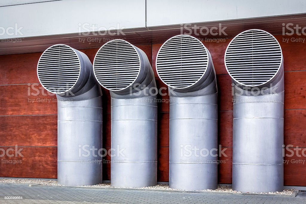 Air Ducts stock photo